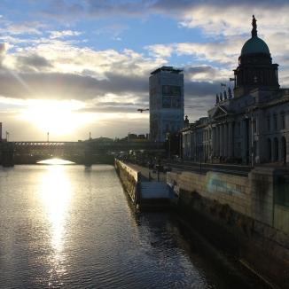 Setting Sun - Dublin